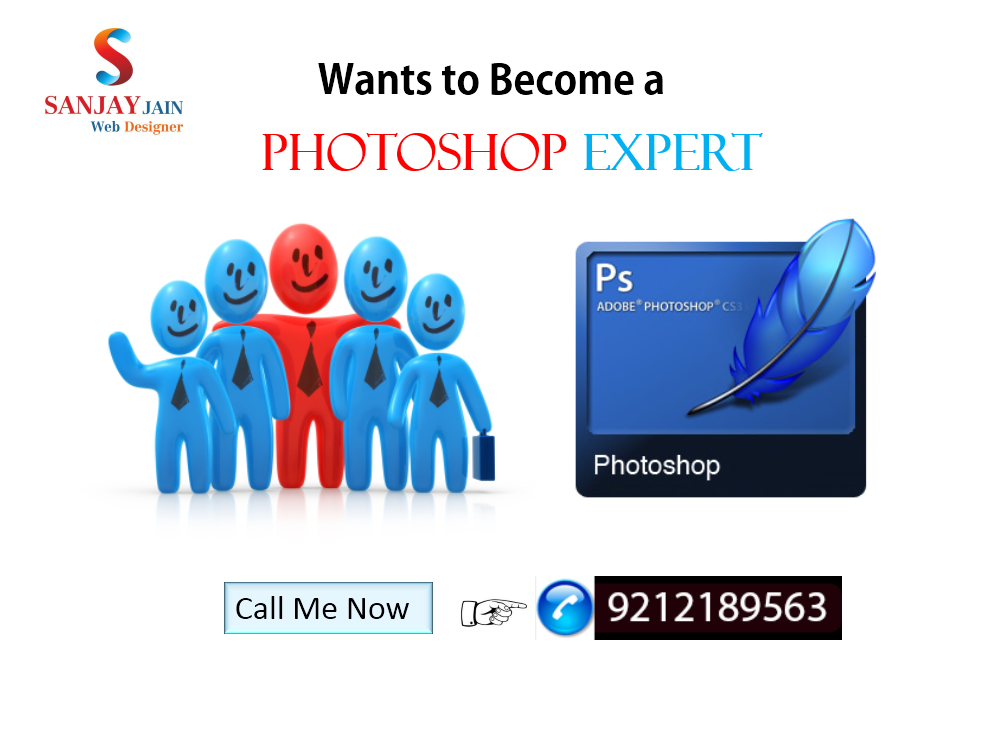 Learn Photoshop in Delhi