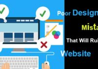 Poor Designing Mistakes That Will Ruin Your Website