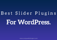 Best Slider Plugin For WordPress