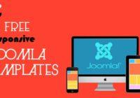 Top 7 Free Responsive Joomla Templates