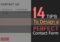 14 Tips to Design a Perfect Contact Form