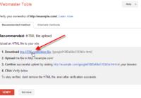 Google Webmaster Varification