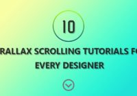 Parallax Scrolling Tutorials For Every Web Designer