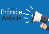 30 Free Places to Promote Website