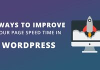 Improve Your Page Speed Time In Wordpress