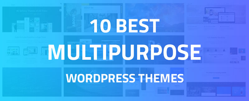 Best Multipurpose WordPress Themes For 2018