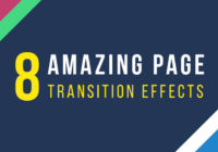 Amazing Page Transition Effects On CODEPEN