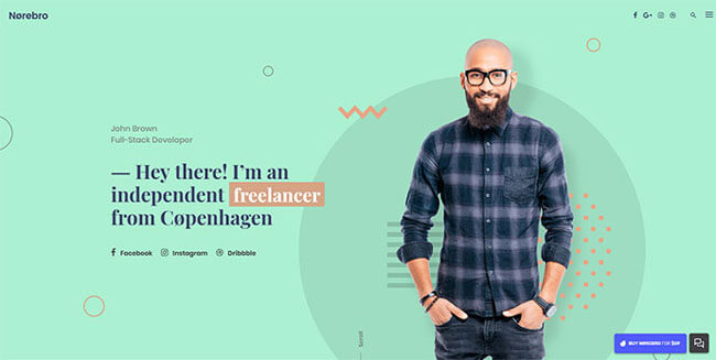 10 WordPress Themes With Great Header Design In 2018