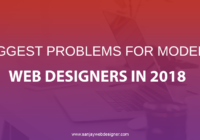 Problems For Modern Web Designers