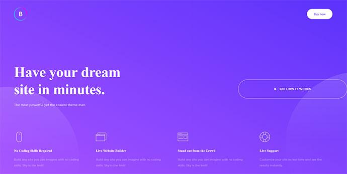 10 Amazing Gradient Style WordPress Themes