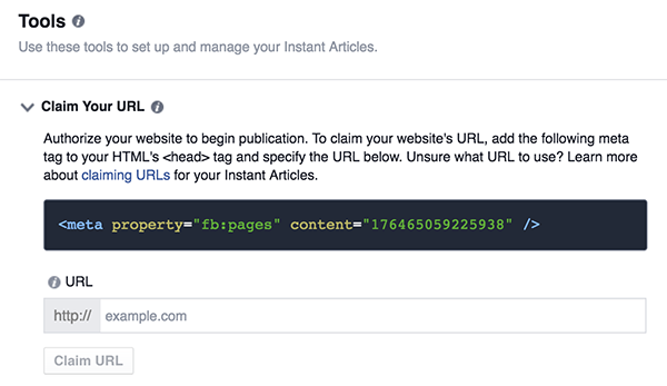 How To Add FB Pages Property In Meta Tags
