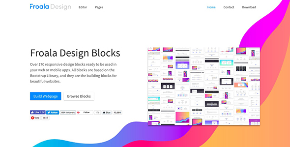 10 Best Free HTML UI Kits Download In 2018