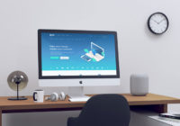 10+ Free Realistic iMac Mockup PSDs Templates Download