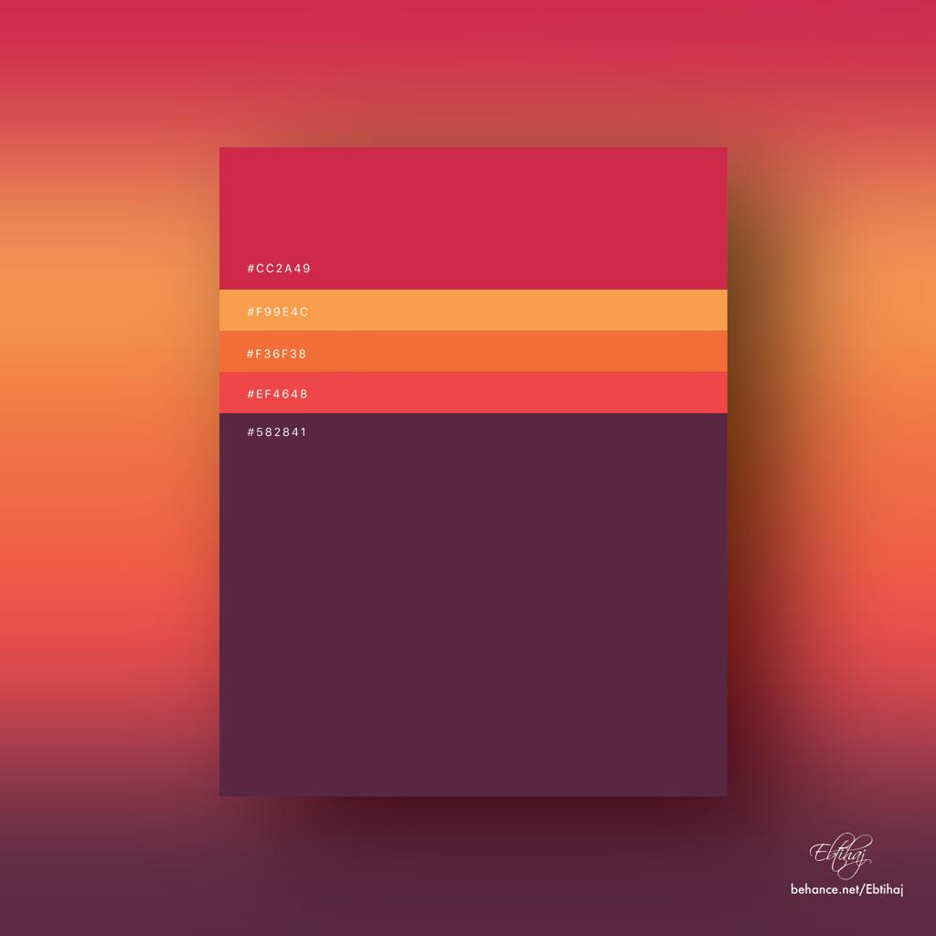 8 Flat Color Palettes For Your Next Design Project