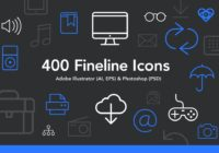 FREE Fineline Icons Download