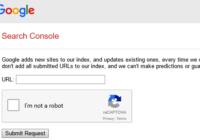 google url submit