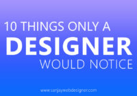 Things Only a Designer Would Notice