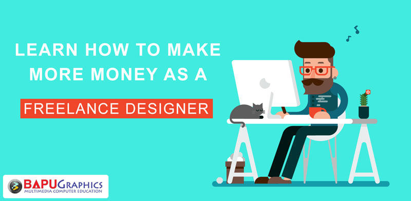 how to make more money as a freelance graphic designer