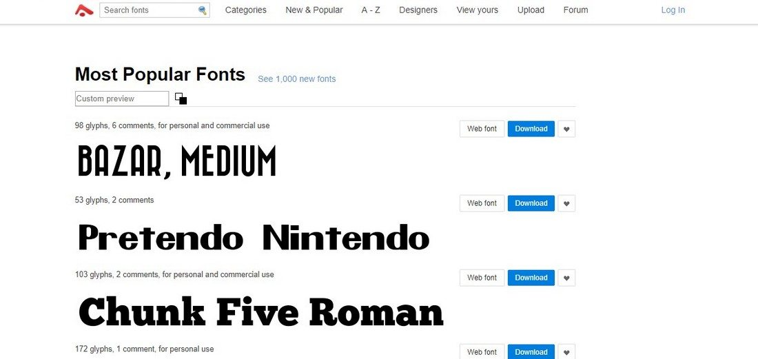 5 Best Websites To Download Free Fonts In 2018 - Sanjay Web